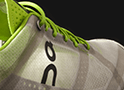 A medida de los pies de un atleta