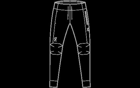 Running Pants W + M