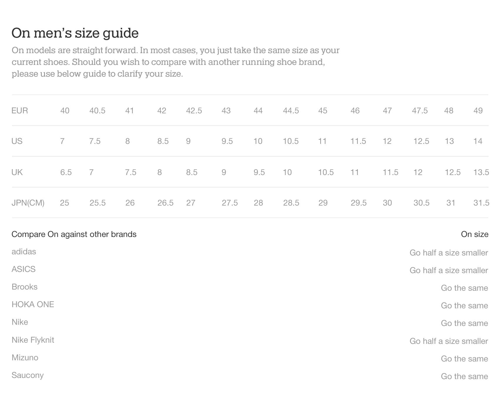 On website shoe size guide mens en