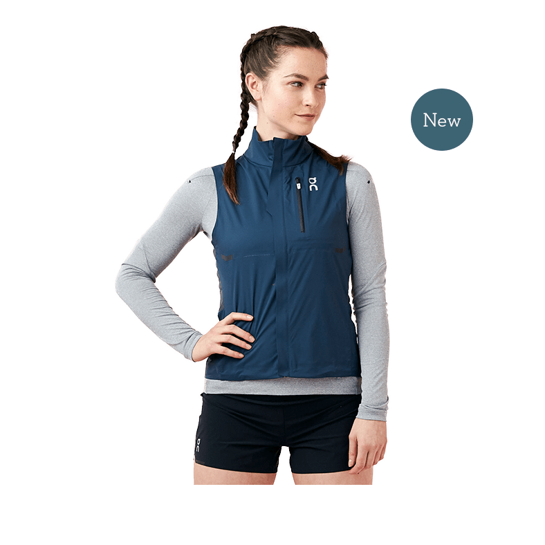 Weather Vest Navy | Shadow W