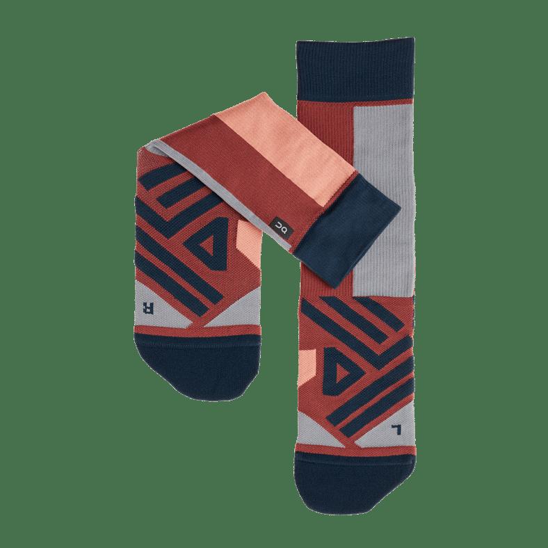 High Sock Ox   Navy W FW18