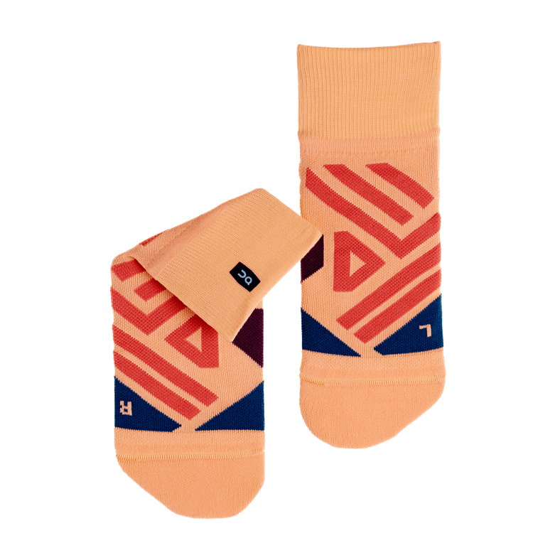 Mid Sock Coral   Navy W FW18