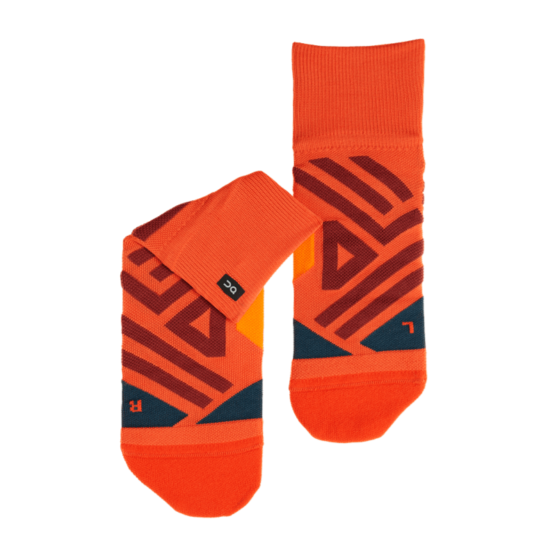 Mid Sock Rust   Navy M FW18