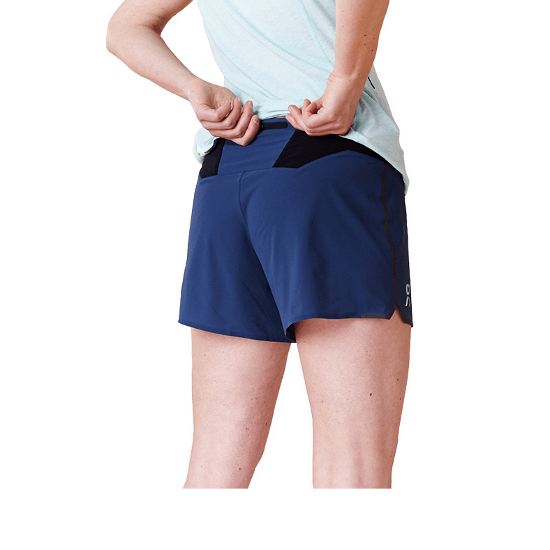 Running Shorts Navy | Black W
