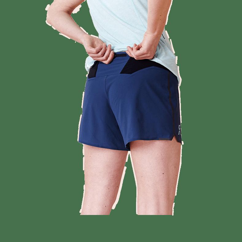 Running Shorts Navy | Black W