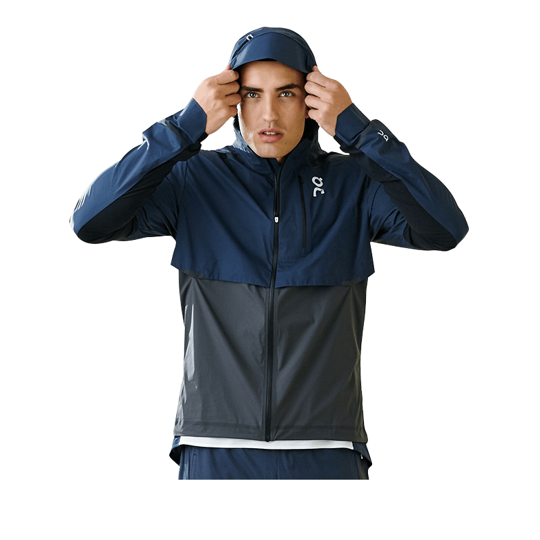 Weather Jacket Navy | Shadow M