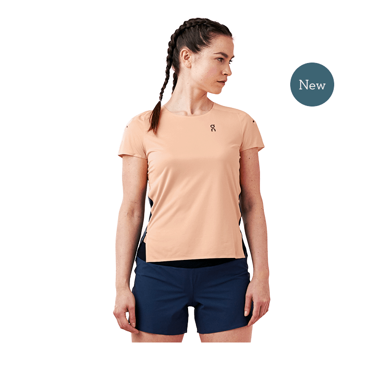Performance-T Coral | Navy W